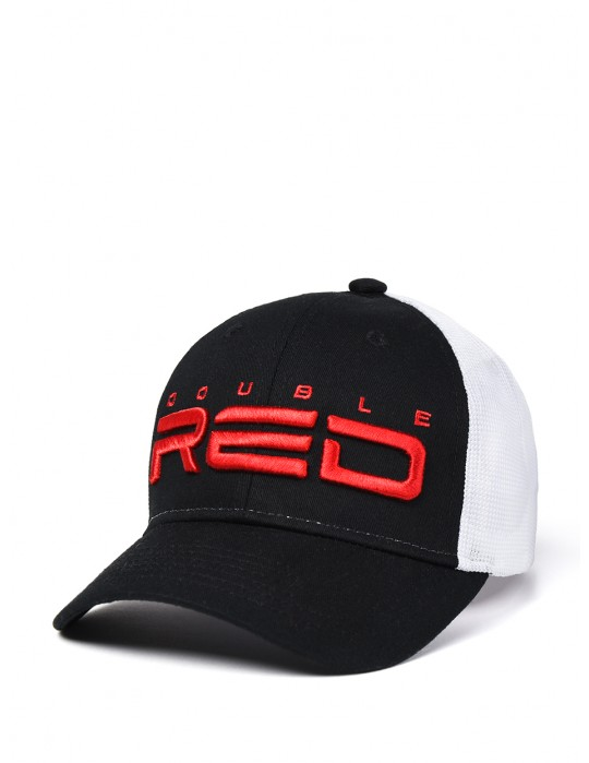 DOUBLE RED Airtech Mesh Cap B&W