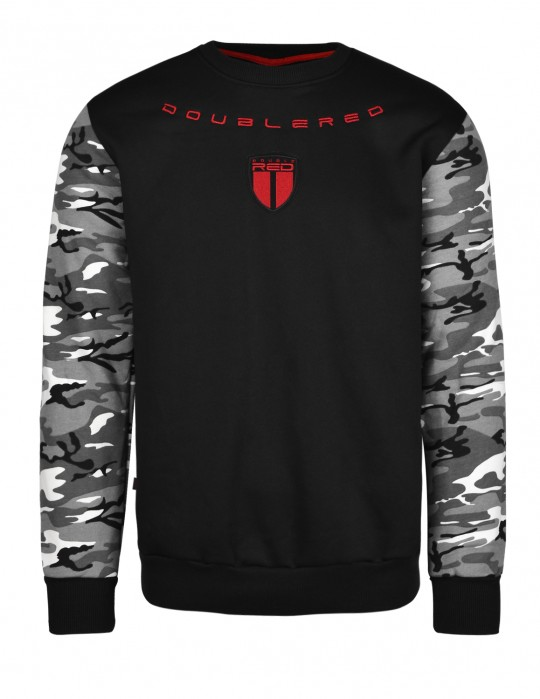 Soldier Sweatshirt Black/Camo