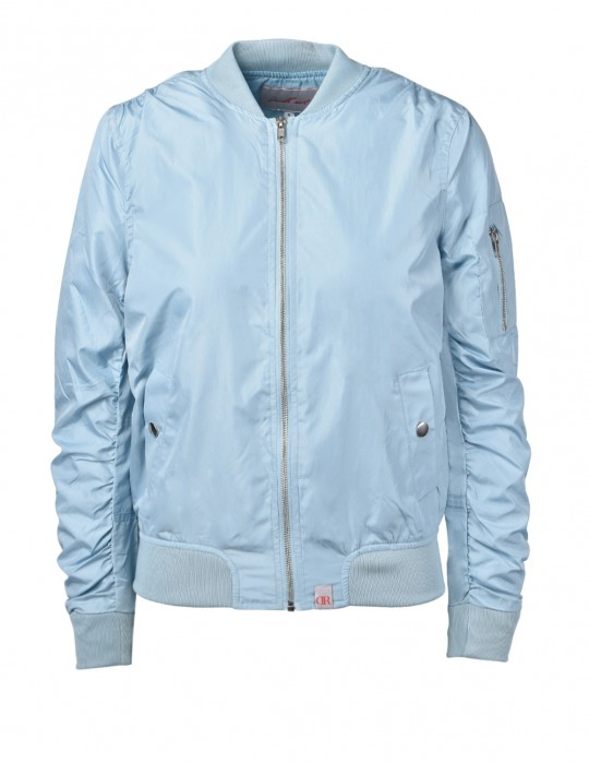 Flight Jacket Light Blue
